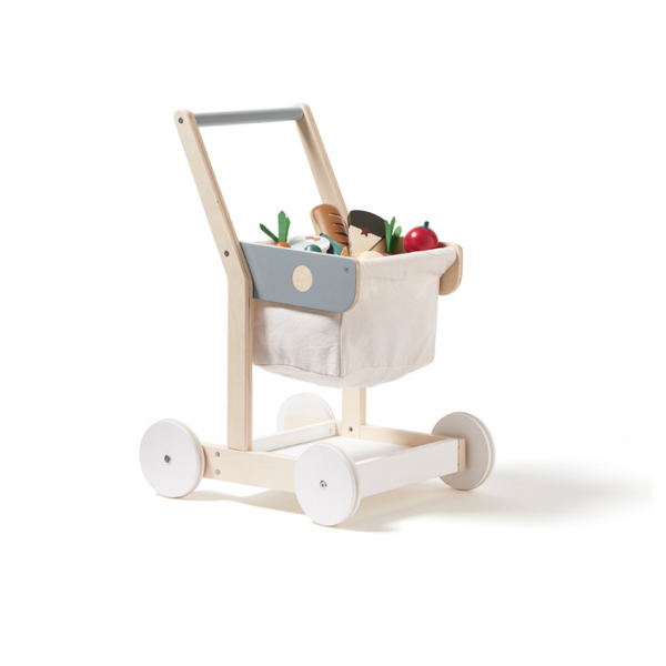 Kids Concept Wooden Trolley - Dapper Mr Bear - www.dappermrbear.com - NZ
