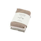 Konges Sløjd 3 Pack Muslin Cloths - Rose Dust Mix - Dapper Mr Bear - www.dappermrbear.com - NZ