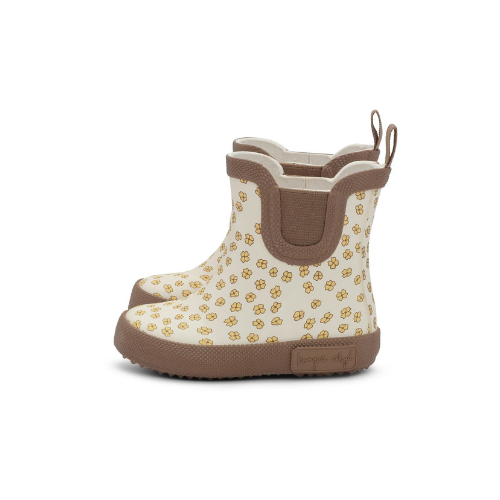Konges Sløjd Welly Rubber Boots - Buttercup Yellow - Dapper Mr Bear - www.dapperbear.com - NZ
