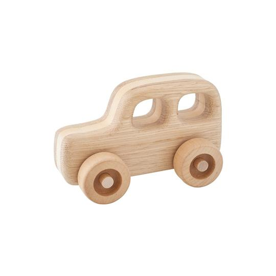 Kubi Dubi Wooden Car - Emma - Dapper Mr Bear - www.dappermrbear.com - NZ