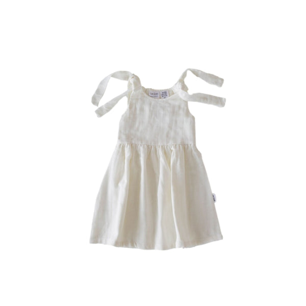 Le Edit Summer Dress - Blanc