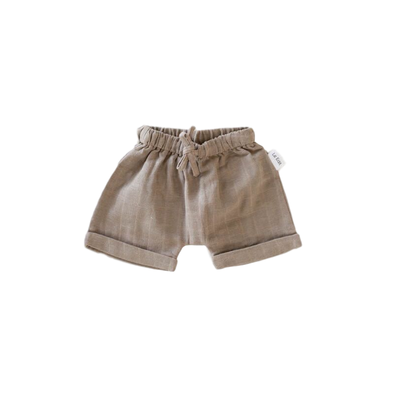 Le Edit Arlo Shorts - Stone