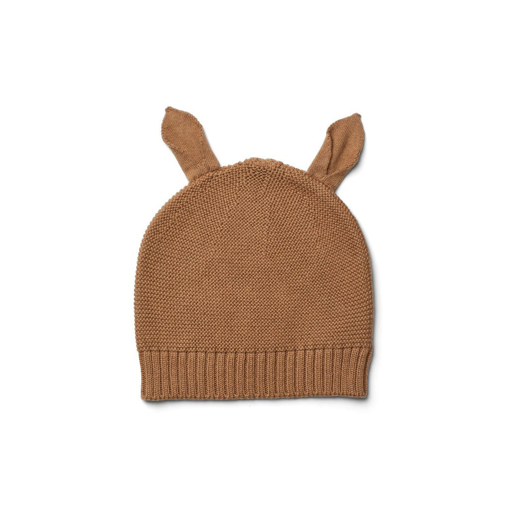 Liewood Mathilde Knit Hat - Camel - Dapper Mr Bear - www.dappermrbear.com - NZ