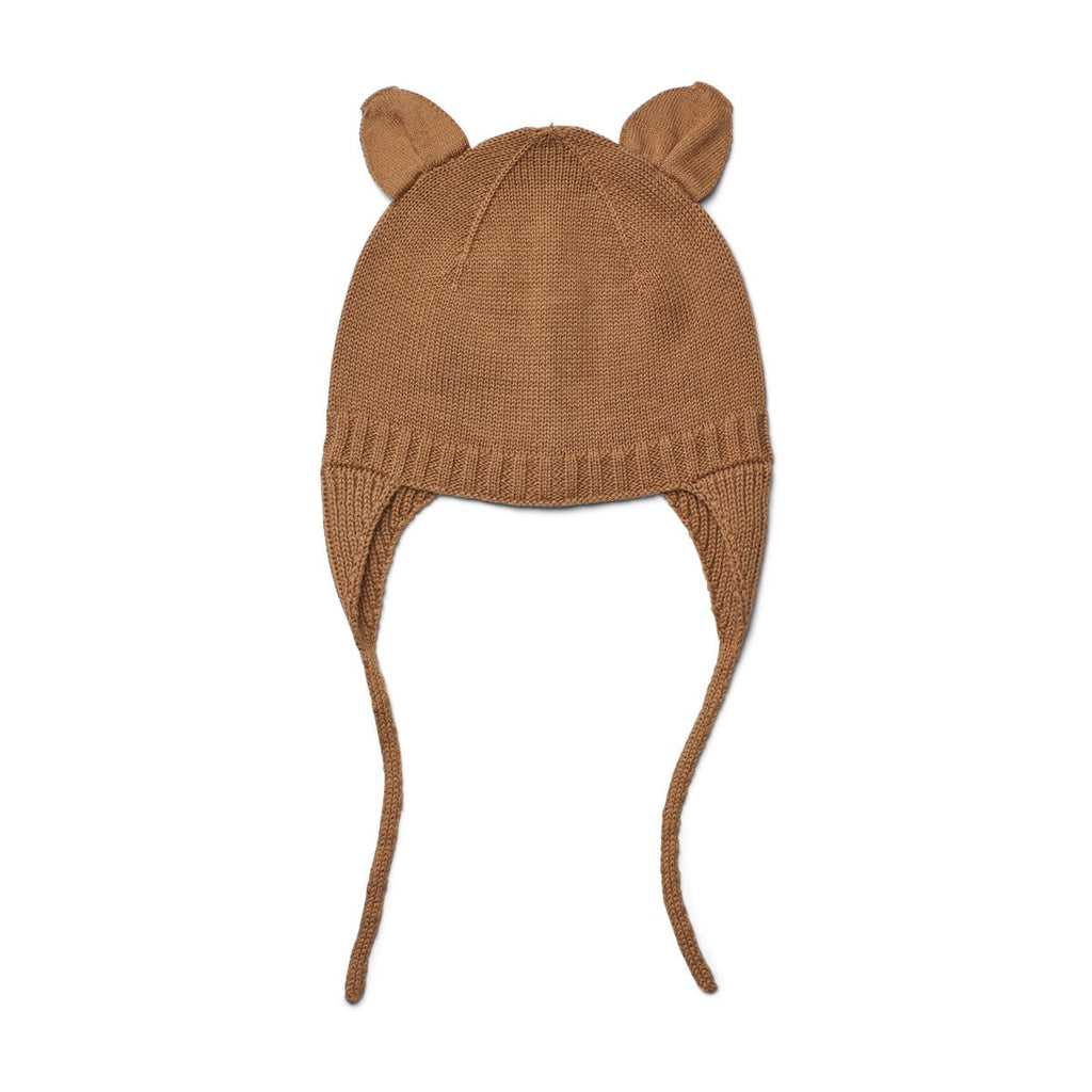 Liewood Violet Bonnet - Camel - Dapper Mr Bear - www.dappermrbear.com - NZ