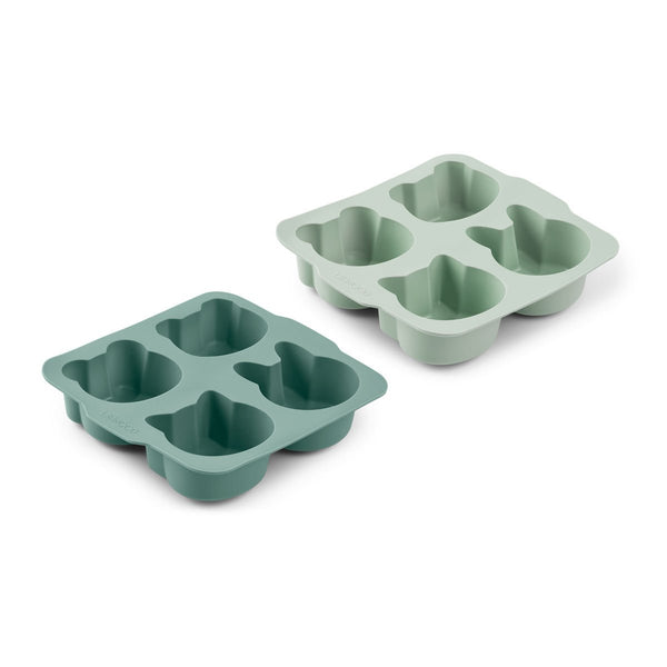 Liewood Mariam Cake Pan 2 Pack - Mint Mix - Dapper Mr Bear - www.dappermrbear.com - NZ