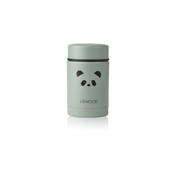 Liewood Nadja Food Jar - Panda Peppermint - Dapper Mr Bear - www.dappermrbear.com - NZ