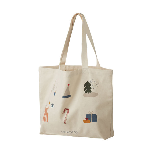 Liewood Tote Bag Holiday Mix - Big - Dapper Mr Bear - www.dappermrbear.com - NZ