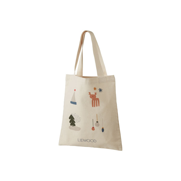 Liewood Tote Bag Holiday Mix - Small - Dapper Mr Bear - www.dappermrbear.com - NZ