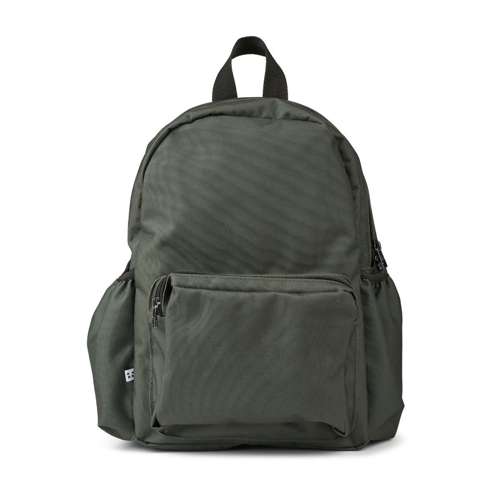 Liewood Wally School Backpack - Hunter Green - Dapper Mr Bear - www.dappermrbear.com - NZ