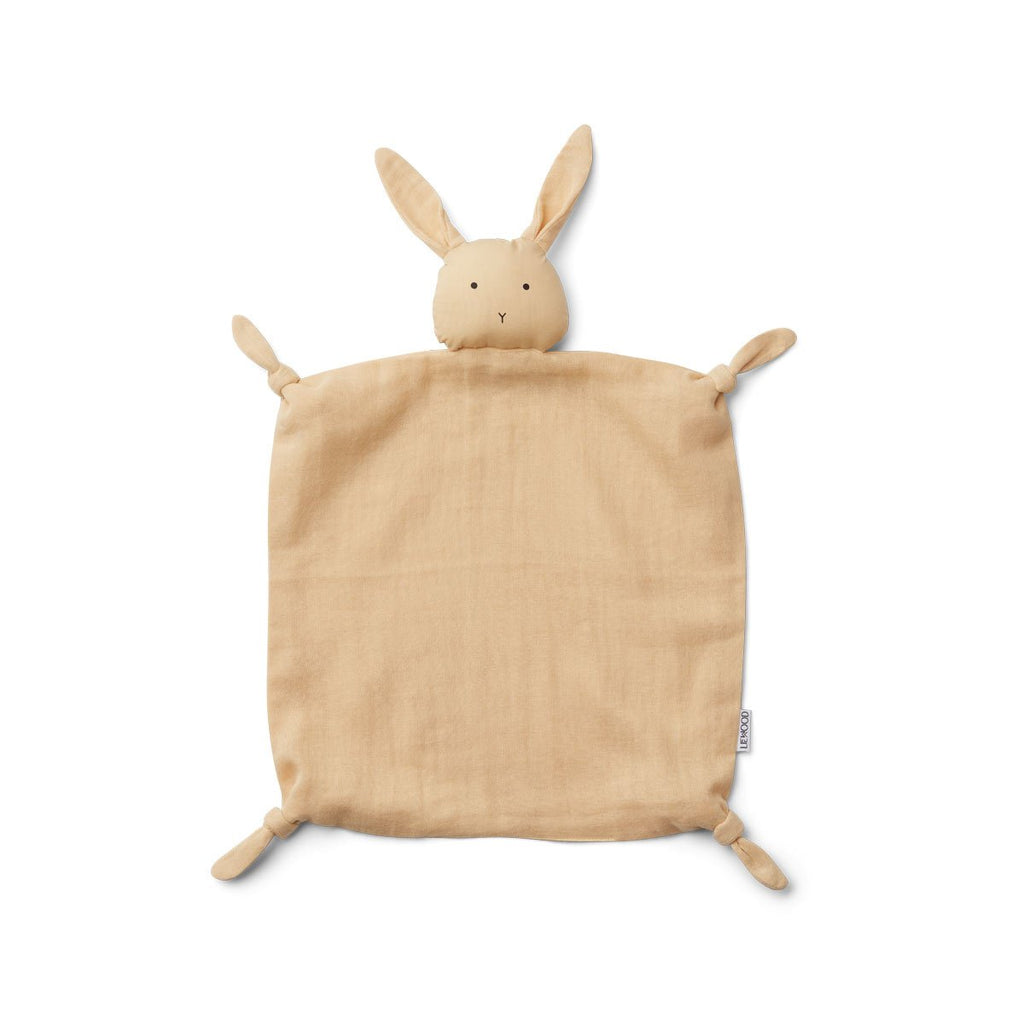 Liewood - Agnete Cuddle Cloth - Smoothie Yellow Rabbit