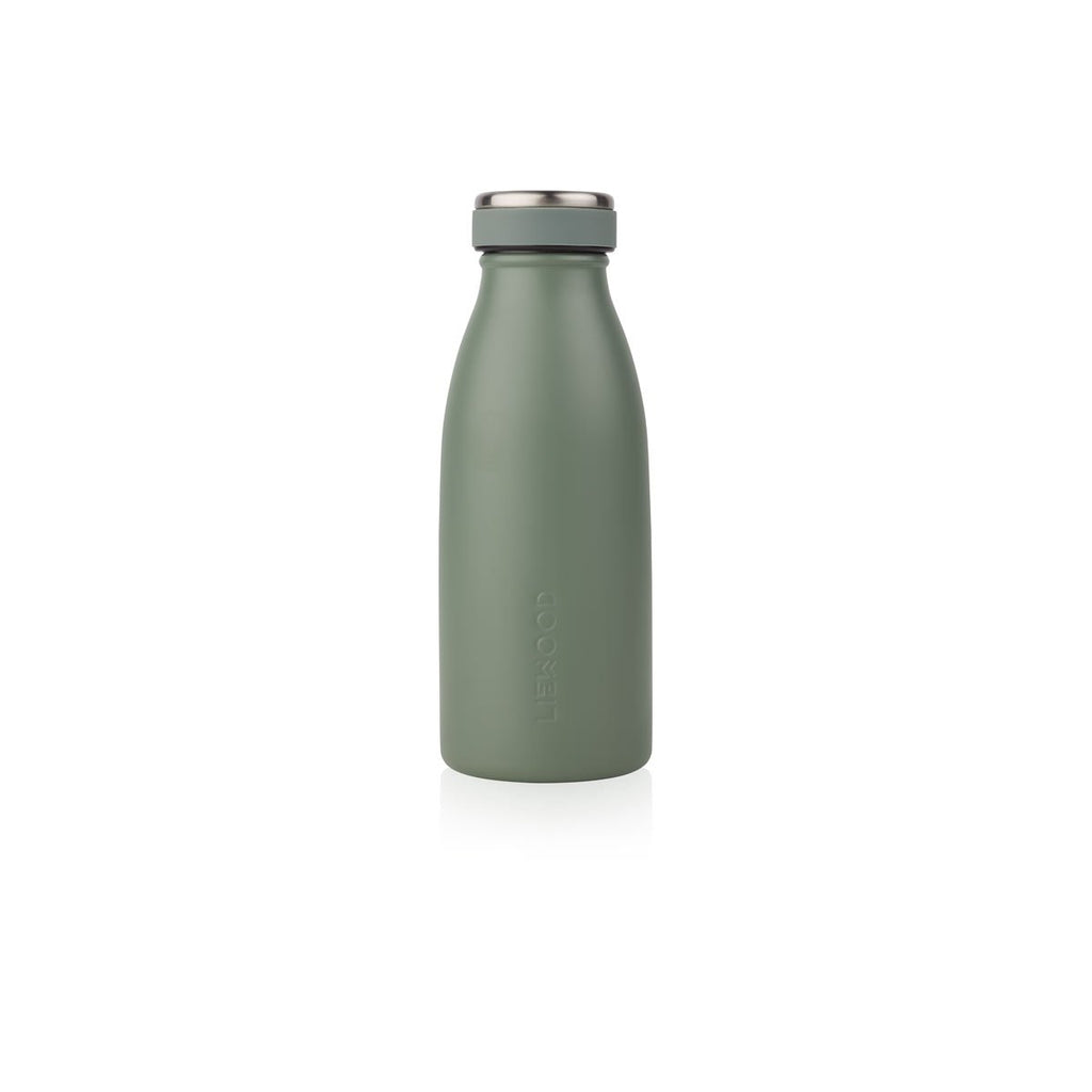 Liewood Estella Water Bottle - Dapper Mr Bear - www.dappermrbear.com - NZ - Faune Green