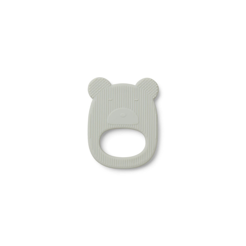 Liewood Gemma Teether - Dusty Mint Mr Bear - Dapper Mr Bear - www.dappermrbear.com - NZ