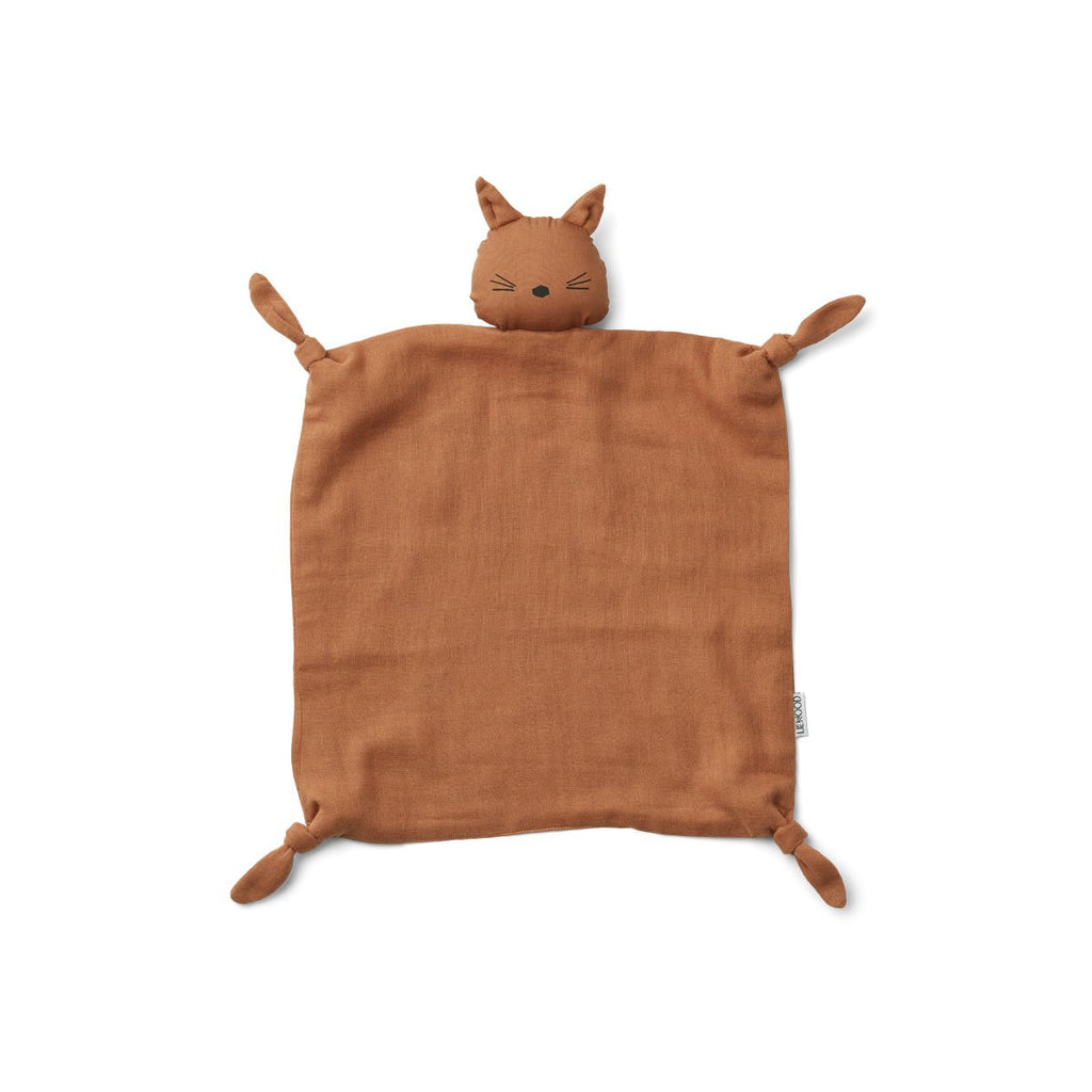 Liewood - Agnete Cuddle Cloth - Terracotta Cat