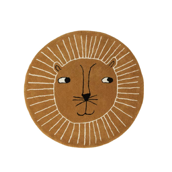 Lion Rug - Dapper Mr Bear - www.dappermrbear.com - OYOY Living Design