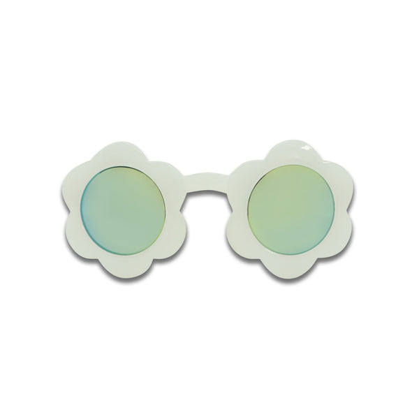 Minista Poppy Sunglasses in White - Dapper Mr Bear - www.dappermbear.com - NZ