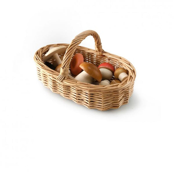Moon Picnic - Forest Mushrooms + Basket Set - Dapper Mr Bear - www.dappermrbear.com - NZ