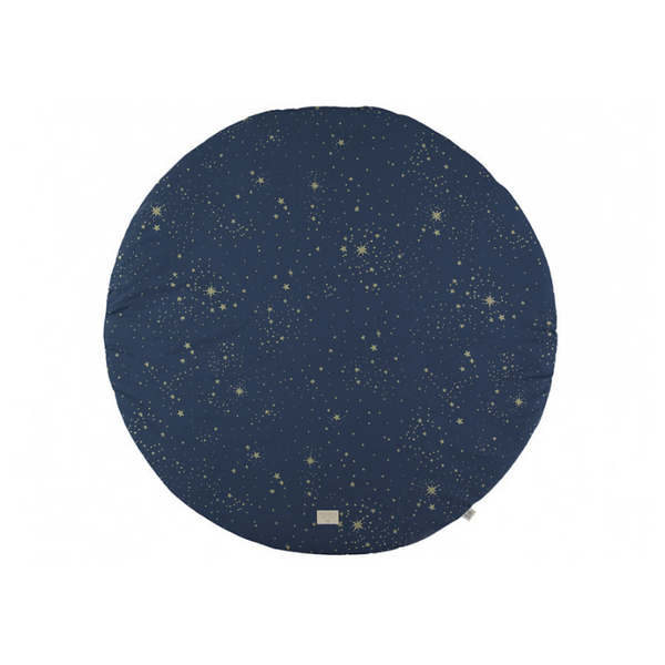 Nobodinoz - Full Moon Play Mat - Gold Stella + Night Blue - Dapper Mr Bear - www.dappermrbear.com - NZ