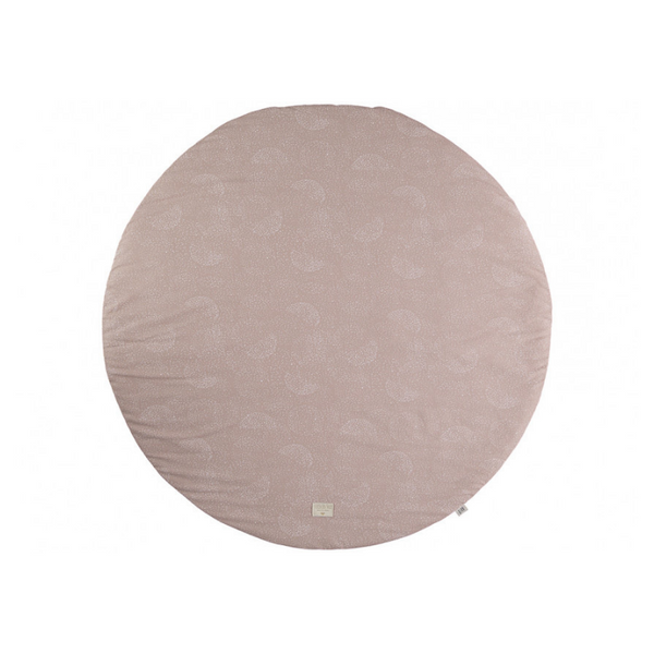 Nobodinoz - Full Moon Play Mat - White Bubble + Misty Pink - Dapper Mr Bear - www.dappermrbear.com - NZ