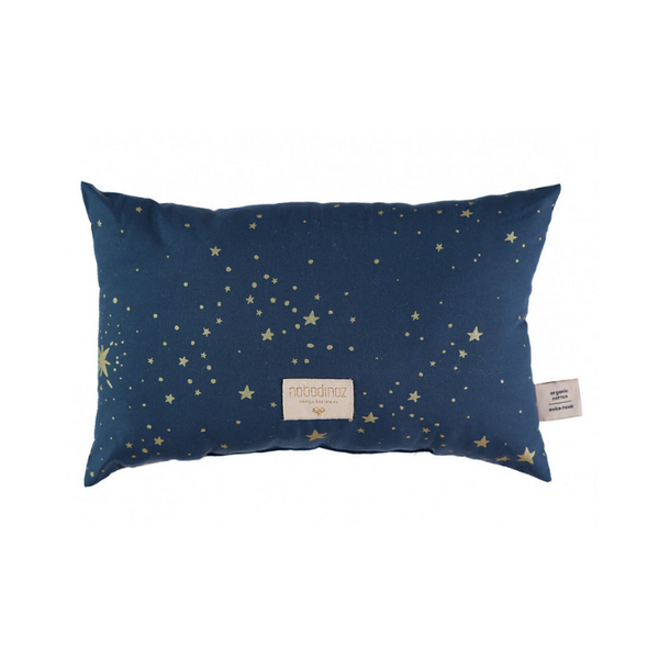 Laurel Cushion - Gold Stella + Night Blue - Dapper Mr Bear - www.dappermrbear.com - NZ