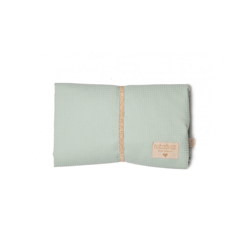 Dapper Mr Bear - www.dappermrbear.com - NZ - Mozart Changing Pad - Aqua