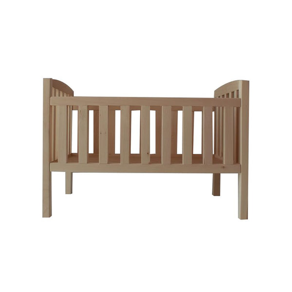 Wooden Doll's Bed