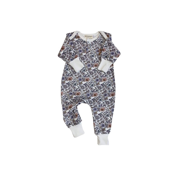 Piper Bug Long Sleeve Romper - Blowas Print - Dapper Mr Bear - www.dappermrbear.com - NZ