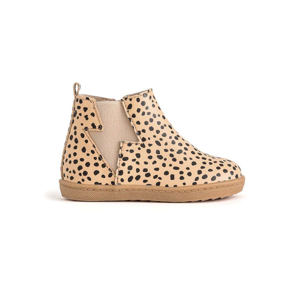 Pretty Brave Electric Boot - Natural Spots - Dapper Mr Bear - www.dappermrbear.com - NZ