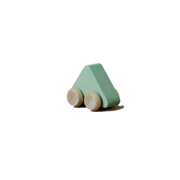 Raduga Grez - Wooden Shape Toy Car - Seafoam - Dapper Mr Bear - www.dappermrbear.com - NZ