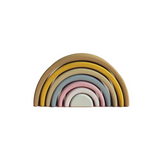 Raduga Grez - Stacking Wooden Pastel Arch Rainbow