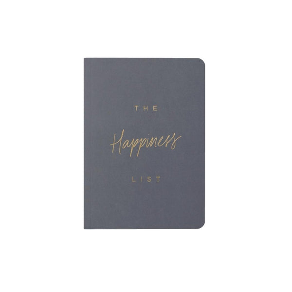 The Happiness List Notebook