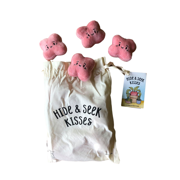 The Kiss Co - Hide and Seek Kisses Game - Dapper Mr Bear - www.dappermrbear.com - NZ