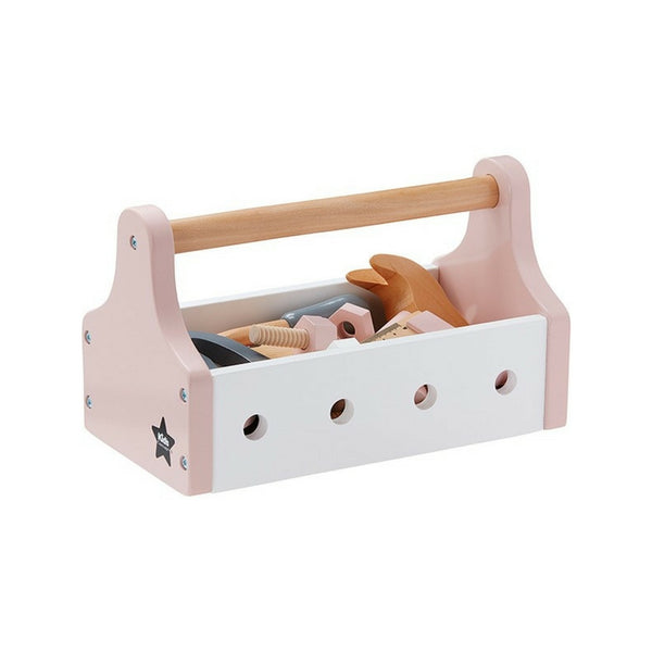 Wooden Tool Box - Pink, Kids Concept | Dapper Mr Bear