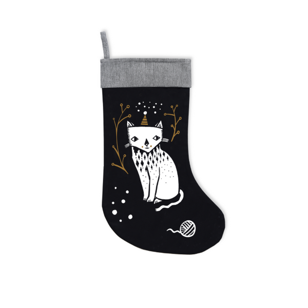 Wee Gallery Christmas Stocking - Dapper Mr Bear - www.dappermrbear.com - NZ