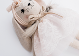 Wonderforest Bunny in Pink Lace Dress - Dapper Mr Bear - www.dappermrbear.com - NZ