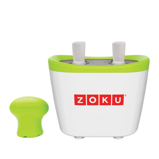 Zoku Duo Quick Pop Maker - Green + White - Dapper Mr bear - www.dappermrbear.com - NZ