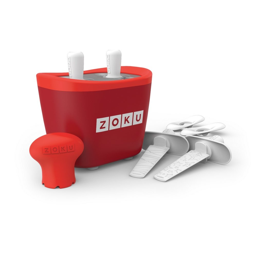 Zoku Duo Quick Pop Maker - Red
