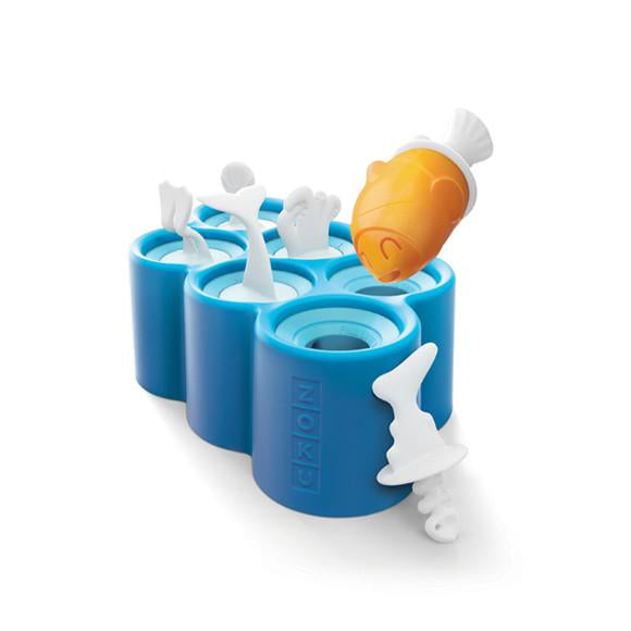 Zoku - Fish Pop Ice Block Moulds - Dapper Mr Bear - www.dappermrbear.com - NZ