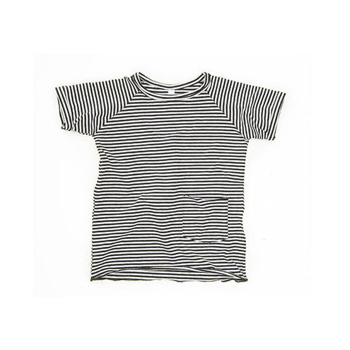 Stripes Short Sleeved Tee, Mingo Kids | Dapper Mr Bear
