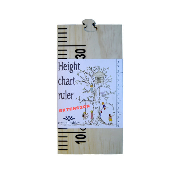 Wooden Height Chart - extension pieces | Dapper Mr Bear