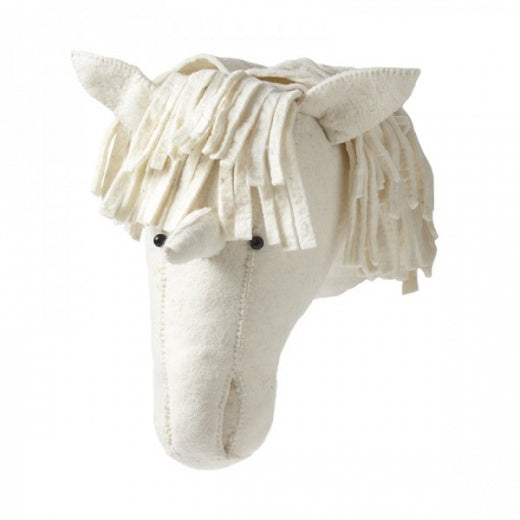 Felt Animal Head - Large Unicorn - Dapper Mr Bear - www.dappermrbear.com - NZ