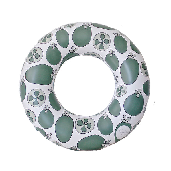 Kids Pool Float - Feijoa Evergreen