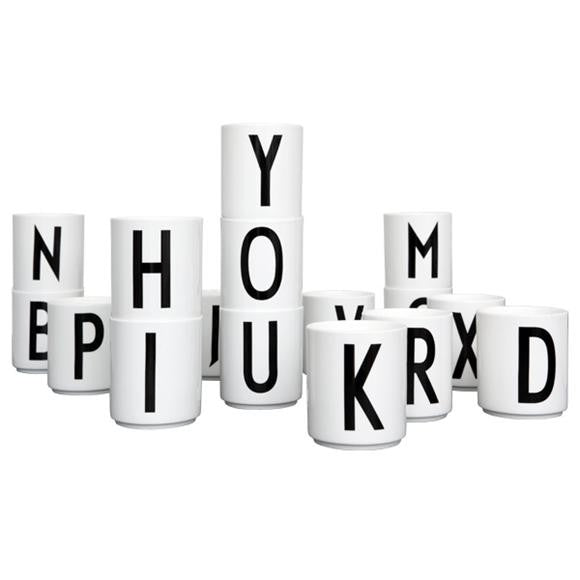 Melamine Alphabet Cups (U last one!)