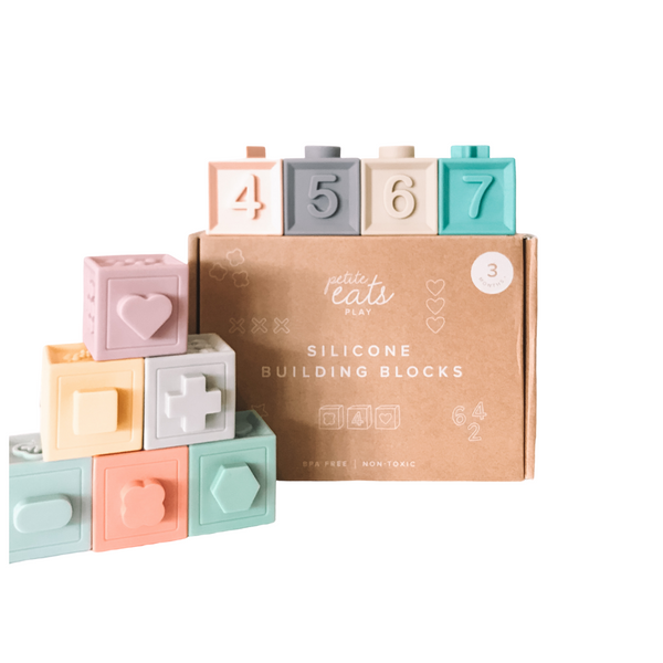 Petite Eats - Silicone Building Blocks