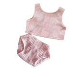 Paola Reina Gordis Baby Doll Underwear Set - Pink - Dapper Mr Bear - www.dappermrbear.com - NZ
