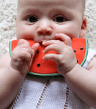 Oli and Carol Baby Teether Wally the Watermelon - Dapper Mr Bear - www.dappermrbear.com - NZ