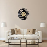 Star Wars Theme Vinyl Wall Clock
