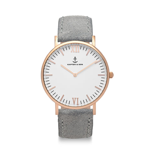 Montre Campus 40mm Grey Vintage
