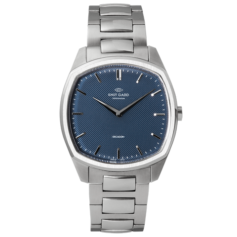 Octagon steel blue - stainless steel