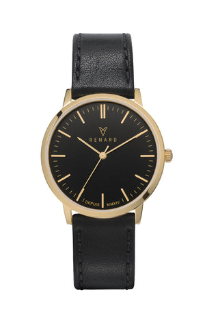 Elite black gold veau black