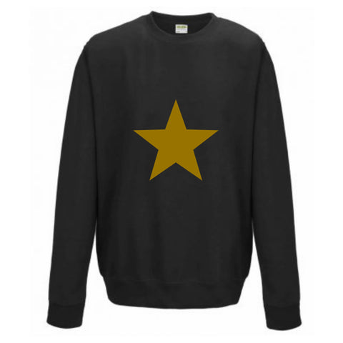 Boyfriend Fit Star print Sweatshirt